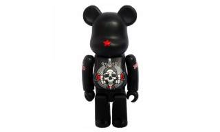 David Flores x Geoff Rowley x Blackbook Toy Be@rbrick 100%