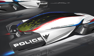 ePatrol – BMW Group DesignworksUSA Shows Futuristic Vision of Police Vehicle of the Year 2025