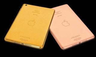 Gold & Co. Introduces 24 Karat Gold & Rose Gold iPad Minis