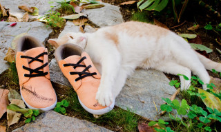 Keep x Bon Iver Cruelty-Free Sneaker featuring Kittens