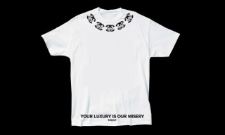 "Kidult Presents The ""Your Luxury Is Our Misery"" T-Shirts"