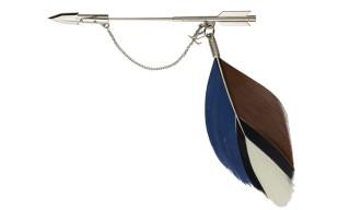 Louis Vuitton Fall/Winter 2012 Men's Feather Brooch Pins
