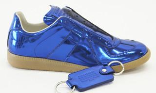 "Maison Martin Margiela Replica Sneaker ""Blue Metallic"" – Sendai Store Limited Edition"