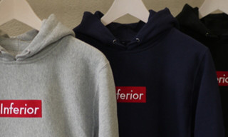 "Mark McNairy x Heather Grey Wall ""Inferior"" and ""F*ck Ivy"" Hooded Sweatshirts"