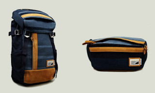 master-piece x oki-ni x Indigofera Prima Luggage Collection