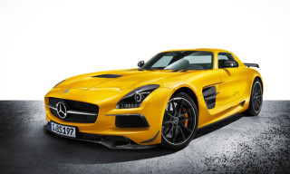 Mercedes-Benz Reveals SLS AMG Black Series