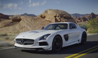 Video: Mercedes-Benz AMG SLS Black Series Trailer
