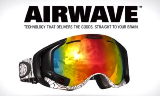 Video: Oakley Airwave – GPS Enabled Goggle