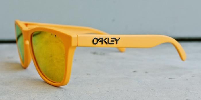 Oakley Frogskins Yellow