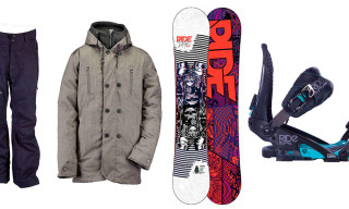 Win a $1300+ Ride Snowboards Prize Pack from Highsnobiety
