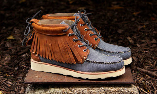 Ronnie Fieg for Sebago Fall/Winter 2012 Iroquois Lux Boots