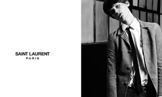 Saint Laurent Mens Spring/Summer 2013 Campaign – Saskia de Brauw by Hedi Slimane