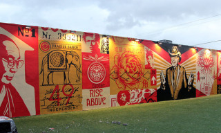 Shepard Fairey Mural at Art Basel Miami 2012