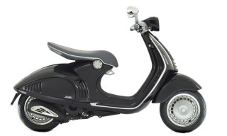 The Sleek Vespa 946 Scooter by Piaggio