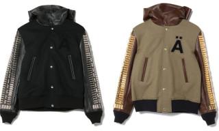 Undercover J4207-1 Studded Varsity Jacket