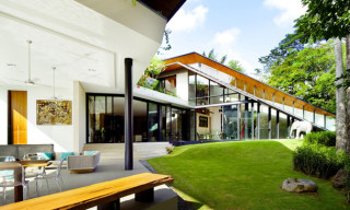 The Winged House in Singapore by K2LD Architects