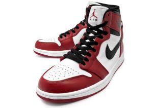 fc9278800f4 Air Jordan 1 Hi Retro - White Black-Varsity Red