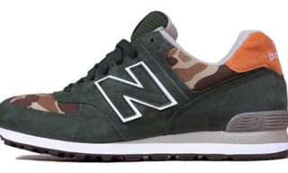 Ball and Buck x New Balance 574 'Mountain Green'