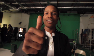 "Behind the Scenes of A$AP Rocky's ""F**kin' Problems"" Music Video Shoot"