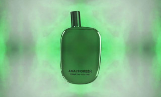 Comme des Garcons Parfums' Amazingreen x POSTmatter Kaleidoscopic Demo