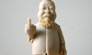 """Elliott Arkin Ai Weiwei Statue """"#1/1,000,000,000"""""""
