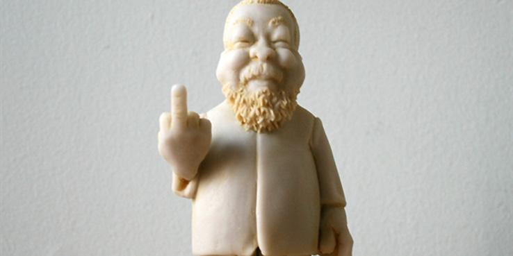 Elliott Arkin Ai Weiwei Statue 1 1 000 000 000