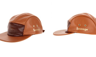 Enswear 5 Panel 'Sauvage' Stingray Leather Cap