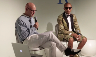Pharrell Discusses Art and Design with Craig Robins at Design Miami