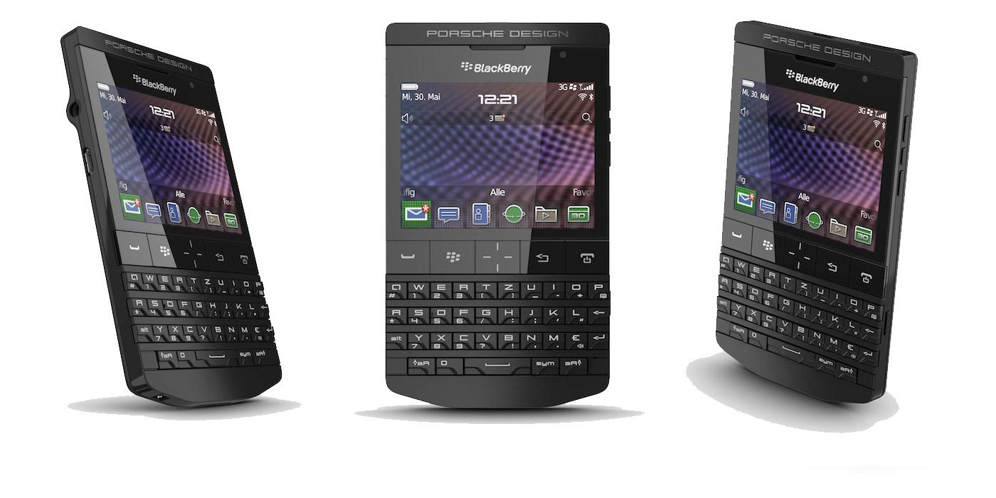 Porsche Design New Black P'9981 BlackBerry | Highsnobiety