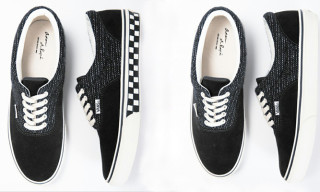 Adam et Rope x Vans Era Beachcloth Checkered Exclusive Model