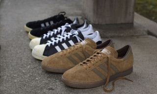 adidas Originals for mita sneakers Holiday 2012 Vintage Pack – Campus 80s, Superstar 80s & Tobacco