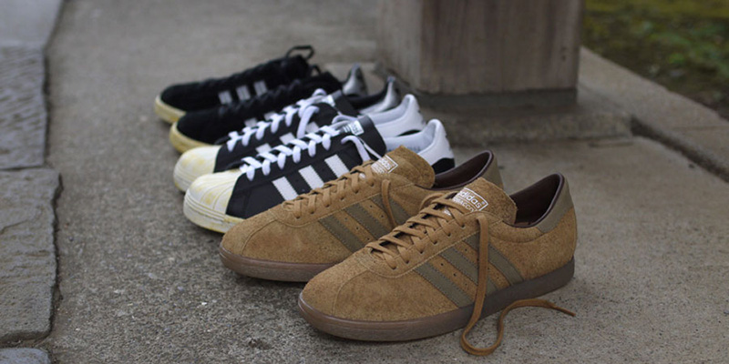 best authentic 4d3bb ae6b1 adidas Originals for mita sneakers Holiday 2012 Vintage Pack - Campus 80s, Superstar  80s  Tobacco  Highsnobiety