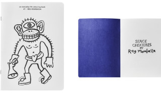 Apartamento x A.P.C. Everday Life Colouring Book feat. Reg Mombassa, Geoff McFetridge and Matt Leines