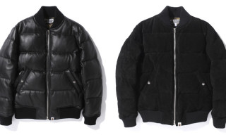 Bape Releases New Leather & Suede MA-1 Bomber Jackets for Holiday 2012