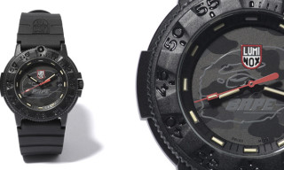 Bape x Luminox 3001MIL