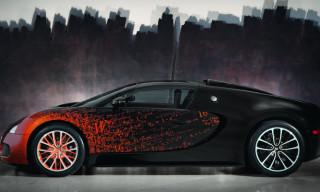 Bugatti Veyron Grand Sport Bernar Venet Edition