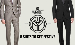 Buyer's Guide: 8 Suits To Get Festive