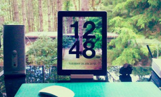 Chameleon Clock App for the iPad and iPhone