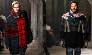 Chanel and Karl Lagerfeld Get Inspired by Scotland for Pre-Fall 2013