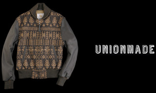 "Golden Bear for Unionmade ""Grey Navajo"" Varsity Jacket"