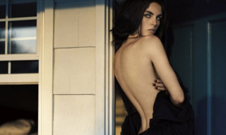 Hilary Rhoda by Vincent Peters for Numéro Tokyo