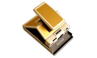 Impossible Project SX70 Camera Gold Edition