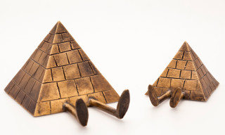 "Case Studyo x Kevin Lyons ""The Pyramids"" Bronze Sculptures"