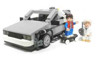 "LEGO Officially Announces ""Back To The Future"" Sets"