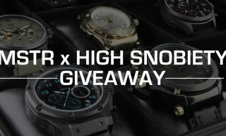 Win 1 of 2 MSTR Watch Prize Packs Worth Over $1500 Each