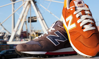 Highsnobiety Photo Editorial: New Balance 1300 Made In USA Spring/Summer 2013