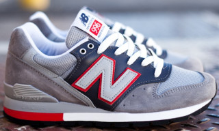 New Balance 996 'Grey/Navy' Made in USA Holiday 2012