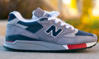 New Balance 998 'Grey/Navy/Red' Holiday 2012