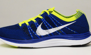 Nike Flyknit One+ Blue/Volt