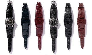 Neighborhood x Porter Crocodile Leather Watch Straps